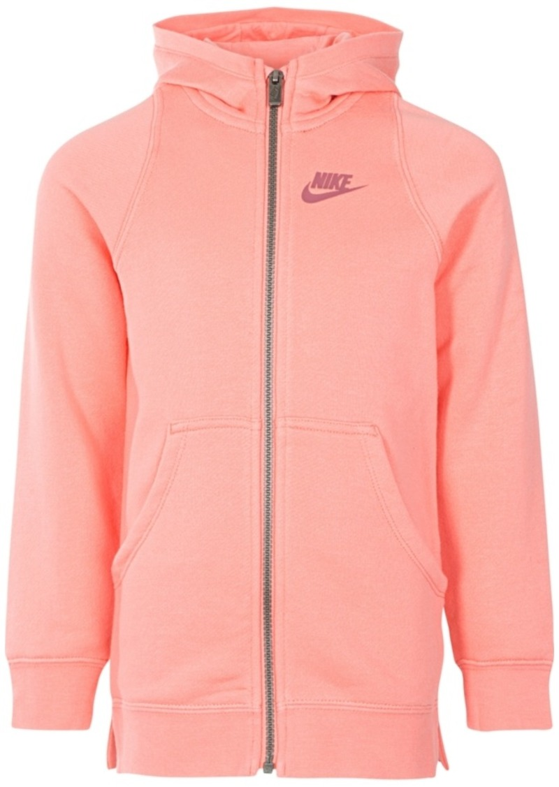 3367ec6926 Nike Nike Full-Zip Hoodie Jacket, Little Girls | Outerwear