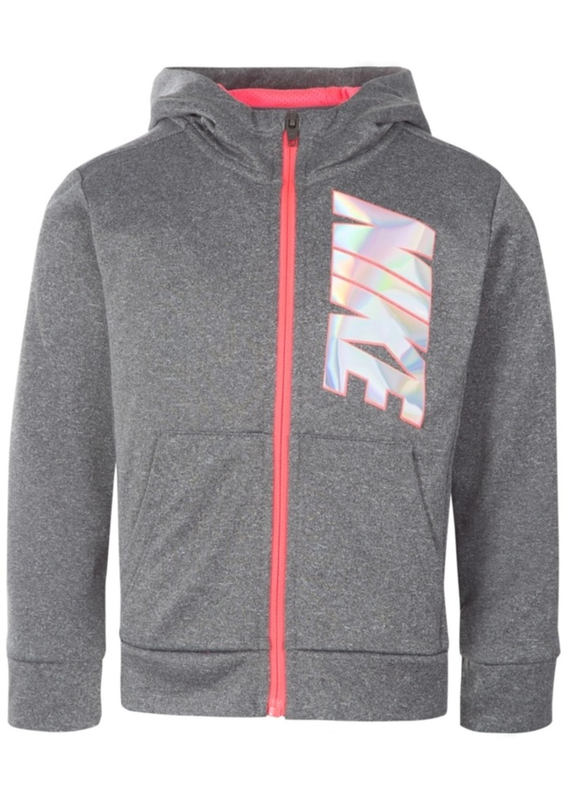a0c7c89831 Nike Nike Full-Zip Therma Training Hoodie, Little Girls