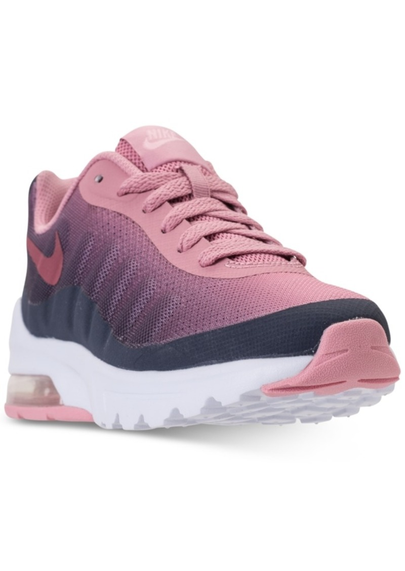 the latest 9a2d4 a3188 Girls  Air Max Invigor Print Running Sneakers from Finish Line. Nike
