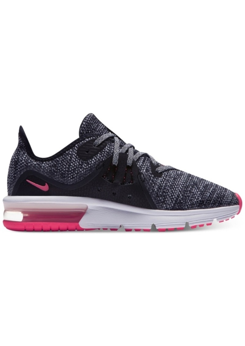 35d4d38336d Nike Nike Big Girls  Air Max Sequent 3 Running Sneakers from Finish ...