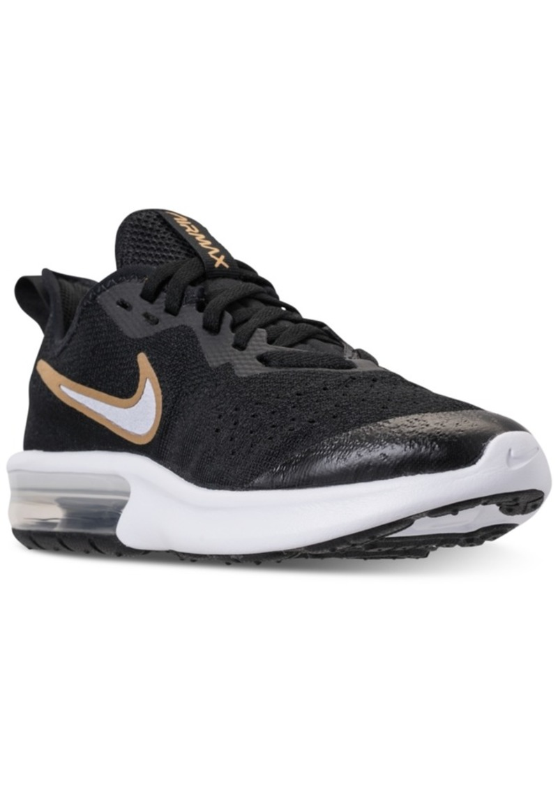 3c0169a97ef Girls  Air Max Sequent 4 Reflective Running Sneakers from Finish Line. Nike