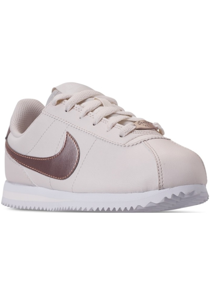 quality design 37e92 c25ed Girls' Cortez Basic Sl Casual Sneakers from Finish Line