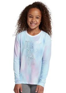 Nike Girl's Cotton Logo Top