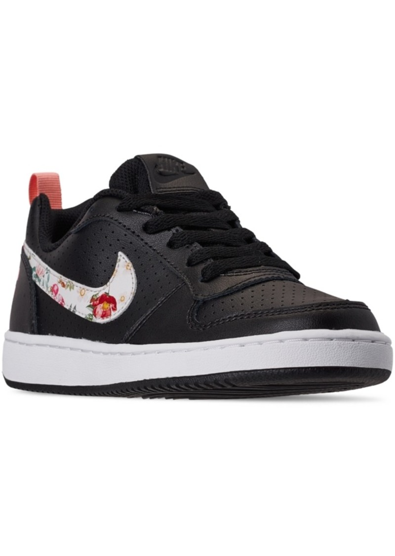 Tercero Artístico loco  Nike Nike Girls Court Borough Low Vintage Floral Casual Sneakers from  Finish Line | Shoes