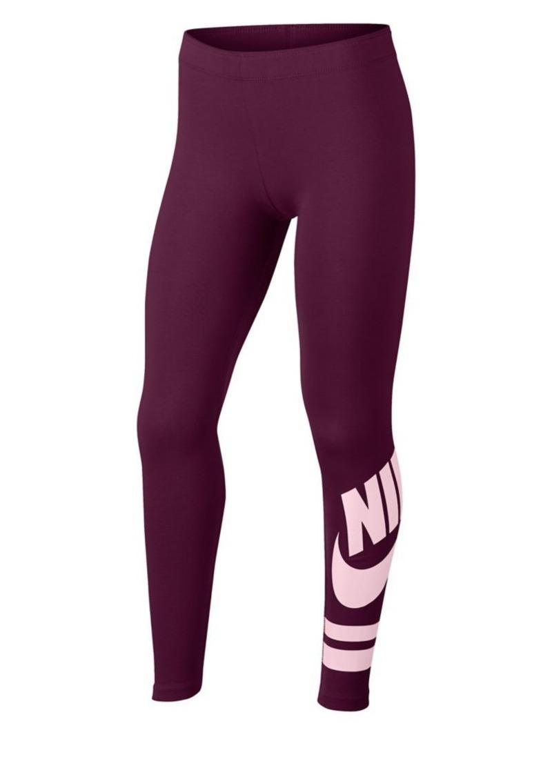 Nike Girl's Graphic Leggings