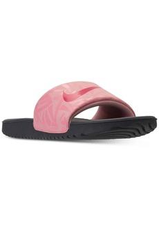 3816fab0971f6 Nike Nike Big Girls' Kawa Print Slide Sandals from Finish Line | Shoes