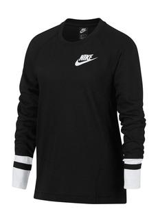 Nike Girl's Long-Sleeve Top
