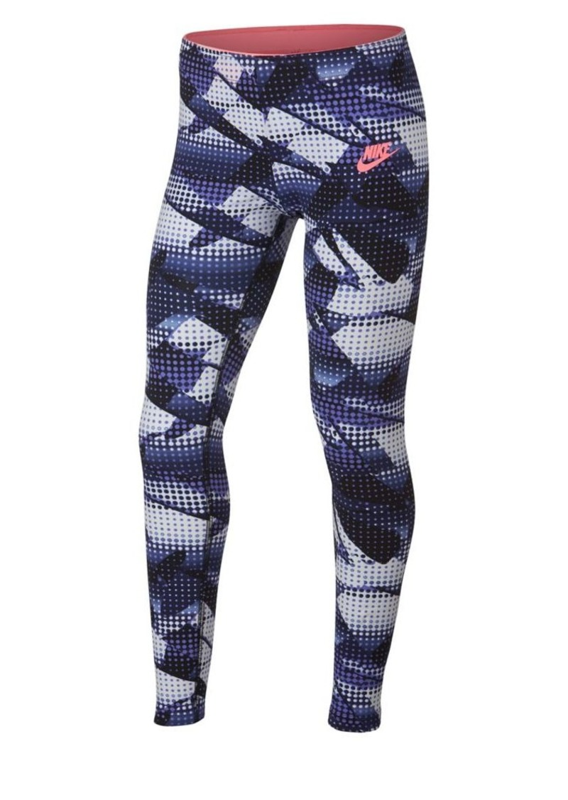 Nike Girl's Printed Leggings