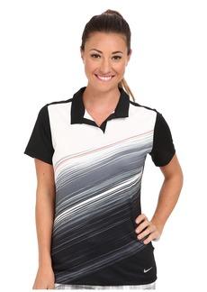 Nike Golf Speed Stripe Mesh Polo