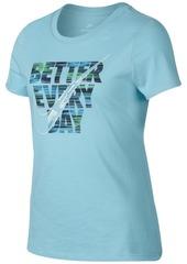 Nike Better Every Day Cotton T-Shirt, Big Girls