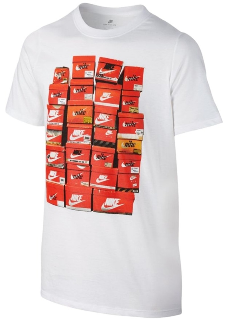 9e46b5bc Nike Nike Vintage Shoe Box T-Shirt, Big Boys (8-20) | Tshirts