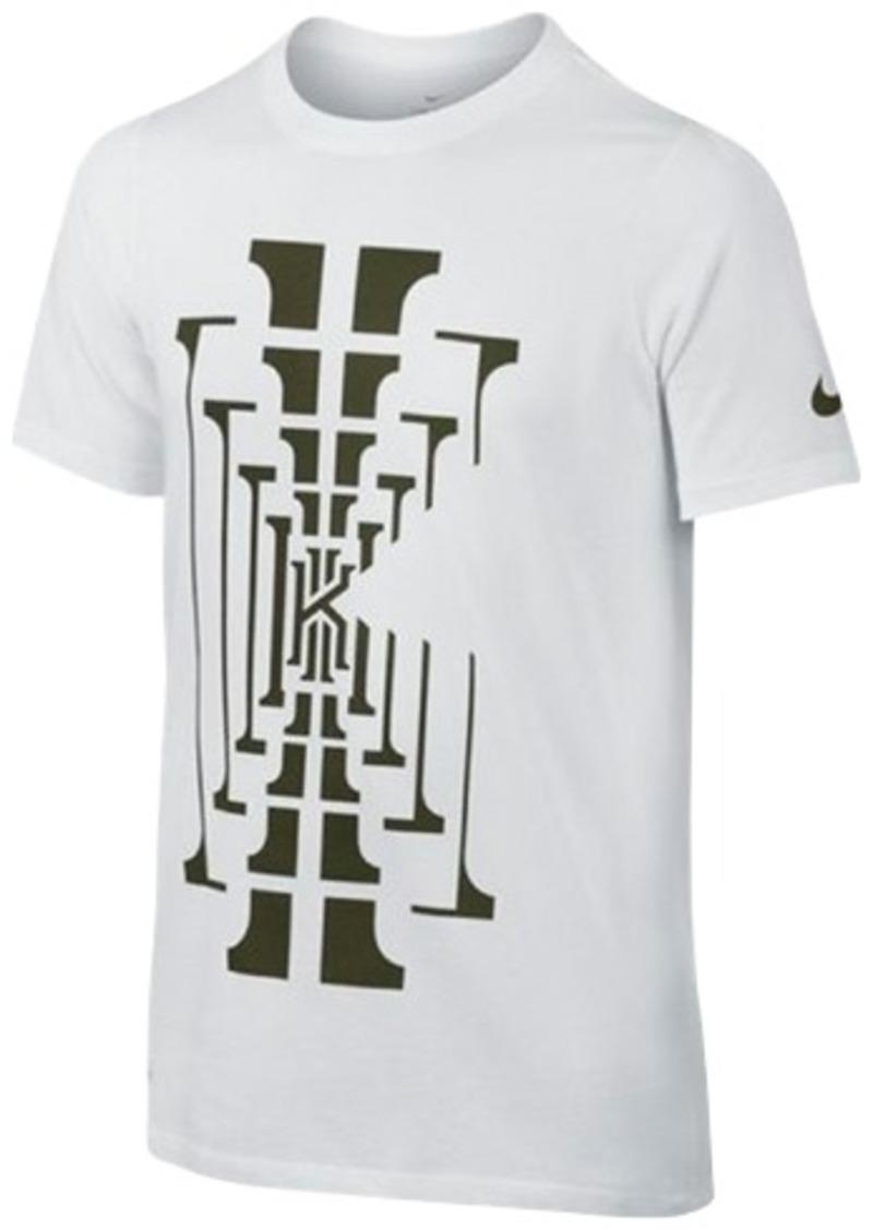 Nike nike kyrie logo tee big boys 8 20 tshirts shop for T shirt graphics for sale
