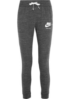 Nike Gym Vintage cotton-blend jersey track pants