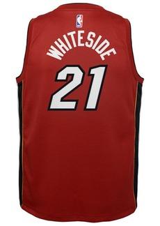 Nike Hassan Whiteside Miami Heat Statement Swingman Jersey, Big Boys (8-20)