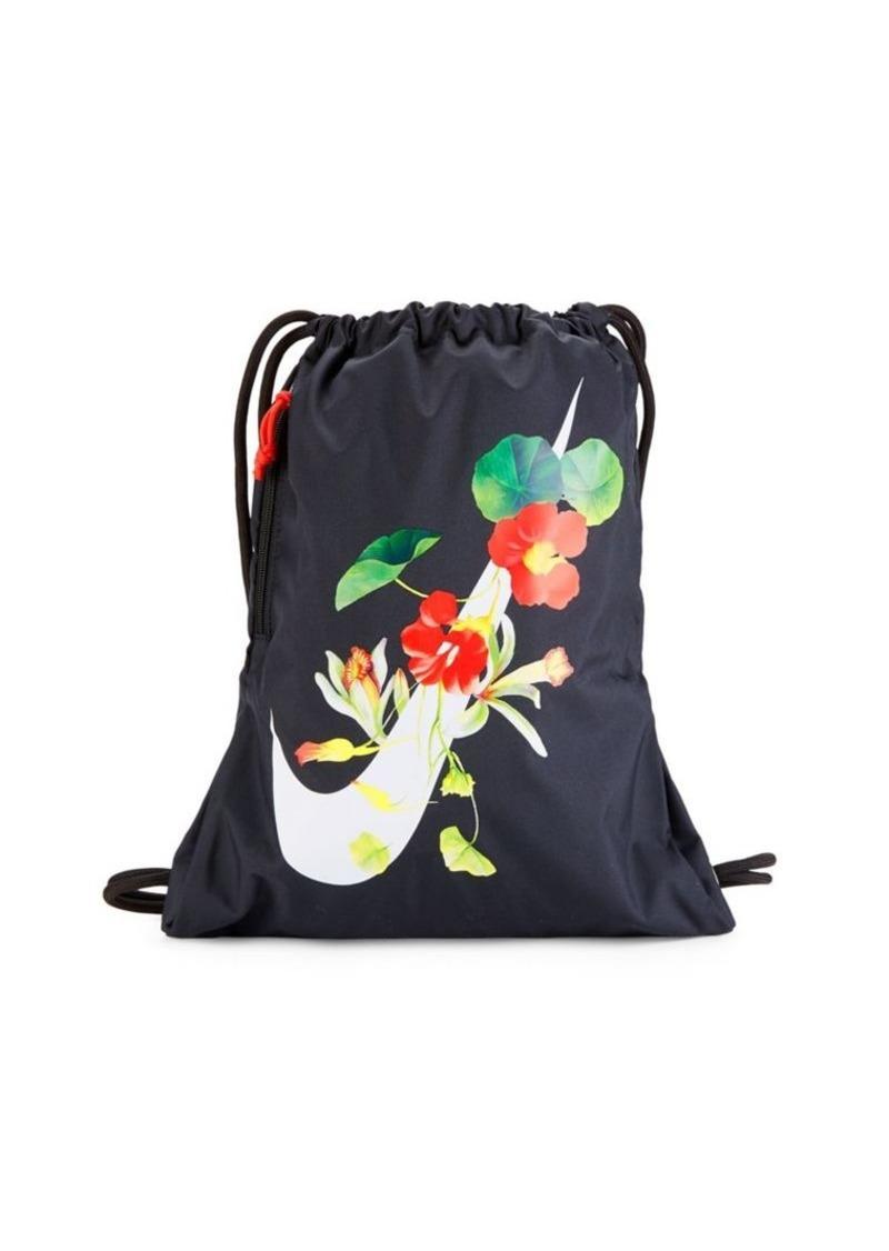 Nike Heritage Printed Drawstring Bag Handbags
