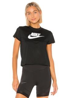 Nike Heritage Short Sleeve Mesh Top