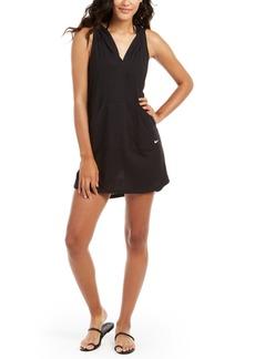Nike Hooded Dress Swim Cover-Up Women's Swimsuit