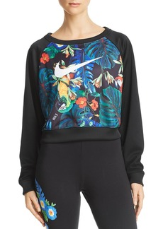 Nike Hyper Tropical Cropped Sweatshirt