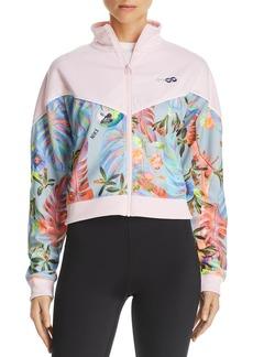 Nike Hyper Tropical Cropped Track Jacket