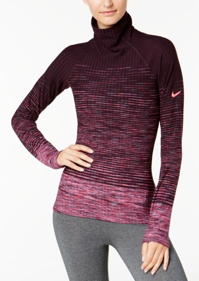7f21c9c638576 Nike Nike HyperWarm Space-Dyed Fleece-Lined Training Top Now  63.75