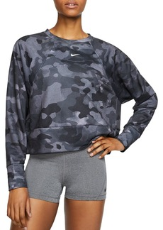 Nike Icon Camo Cropped Sweatshirt