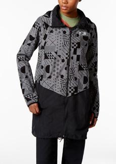 Nike International Cotton Printed Long Jacket