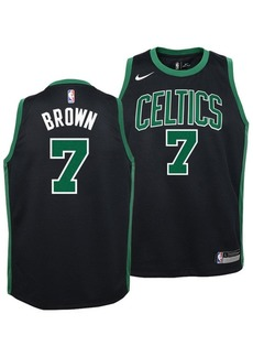 Nike Jaylen Brown Boston Celtics Statement Swingman Jersey, Big Boys (8-20)