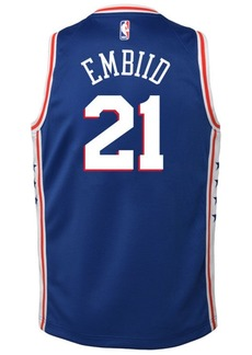 Nike Joel Embiid Philadelphia 76ers Icon Swingman Jersey, Big Boys (8-20)