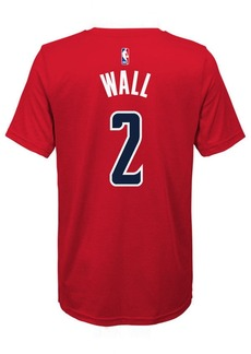 Nike John Wall Washington Wizards Icon Name & Number T-Shirt, Big Boys (8-20)