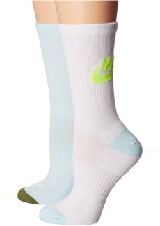 Nike Just Do It 2-Pair Pack Crew Socks