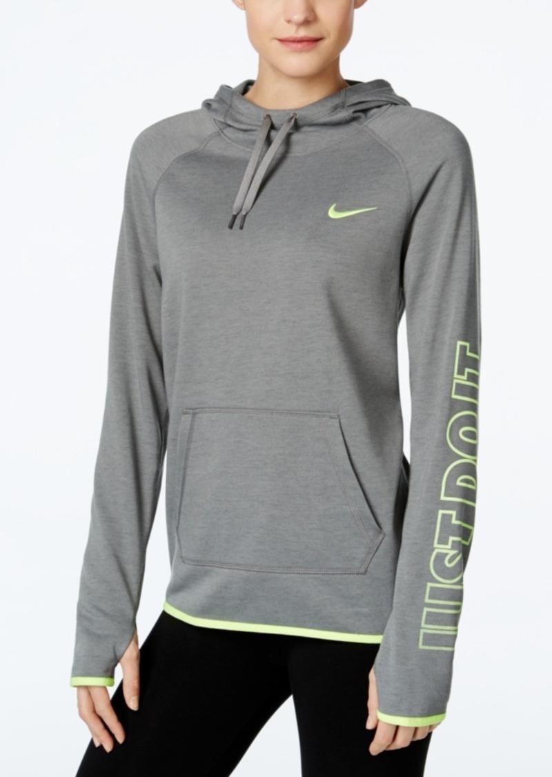 Nike Nike Just Do It Dri-fit Lightweight Fleece Hoodie ...