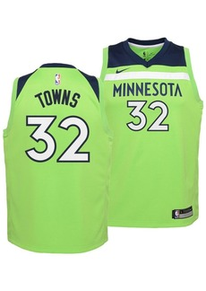 Nike Karl-Anthony Towns Minnesota Timberwolves Statement Swingman Jersey, Big Boys (8-20)