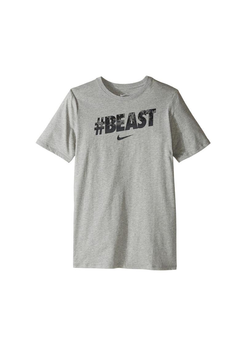 "Nike Kids ""#Beast"" Training T-Shirt (Little Kids/Big Kids)"