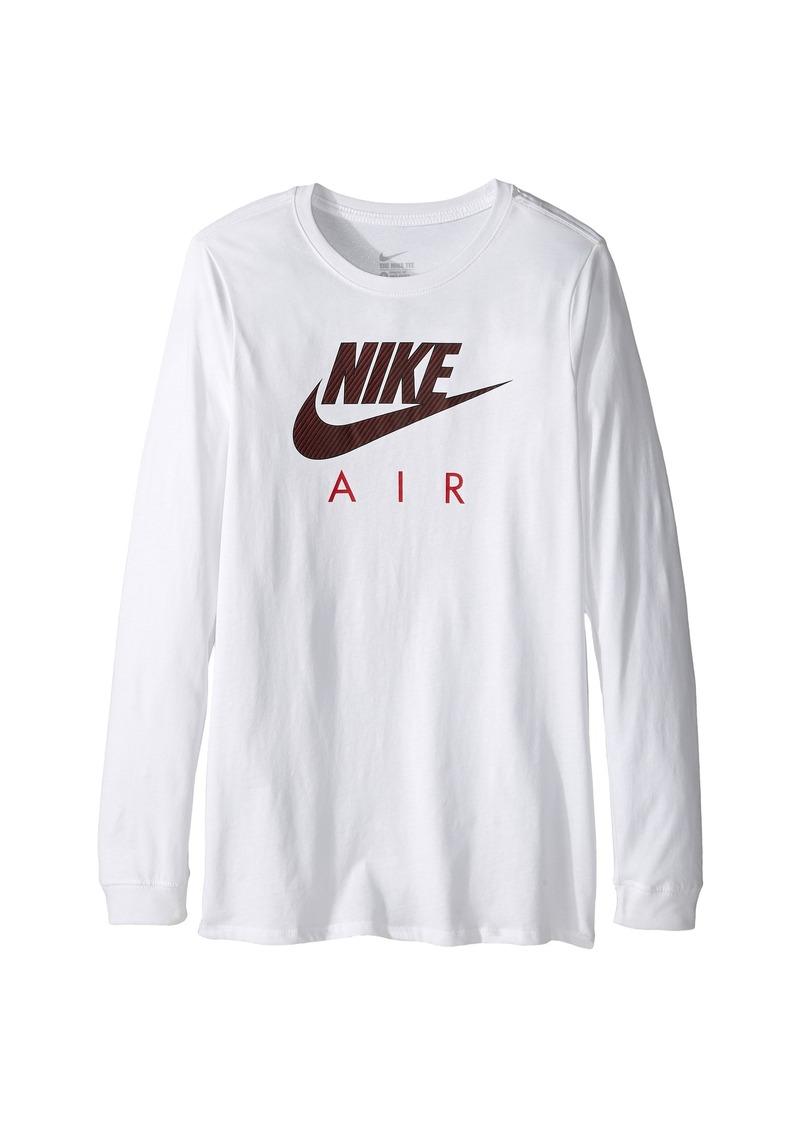 Nike Nike Kids Cotton Long Sleeve Air TD (Little Kids/Big Kids)   Shirts