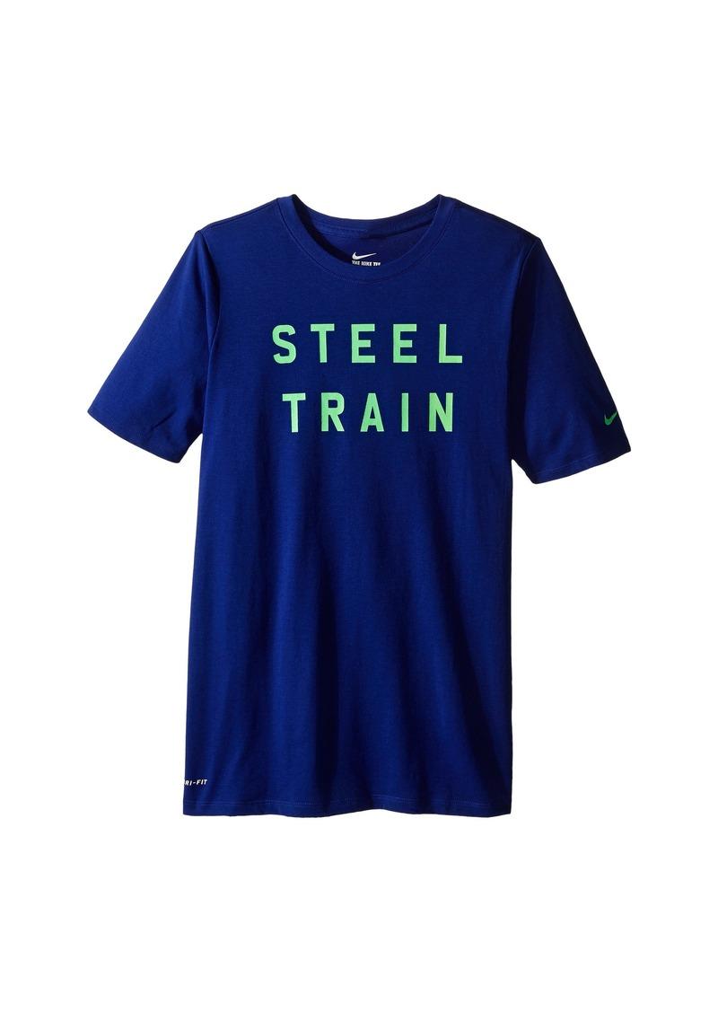 """Nike Kids Dri-FIT™ """"Steel Train"""" Tee (Little Kids/Big Kids)"""