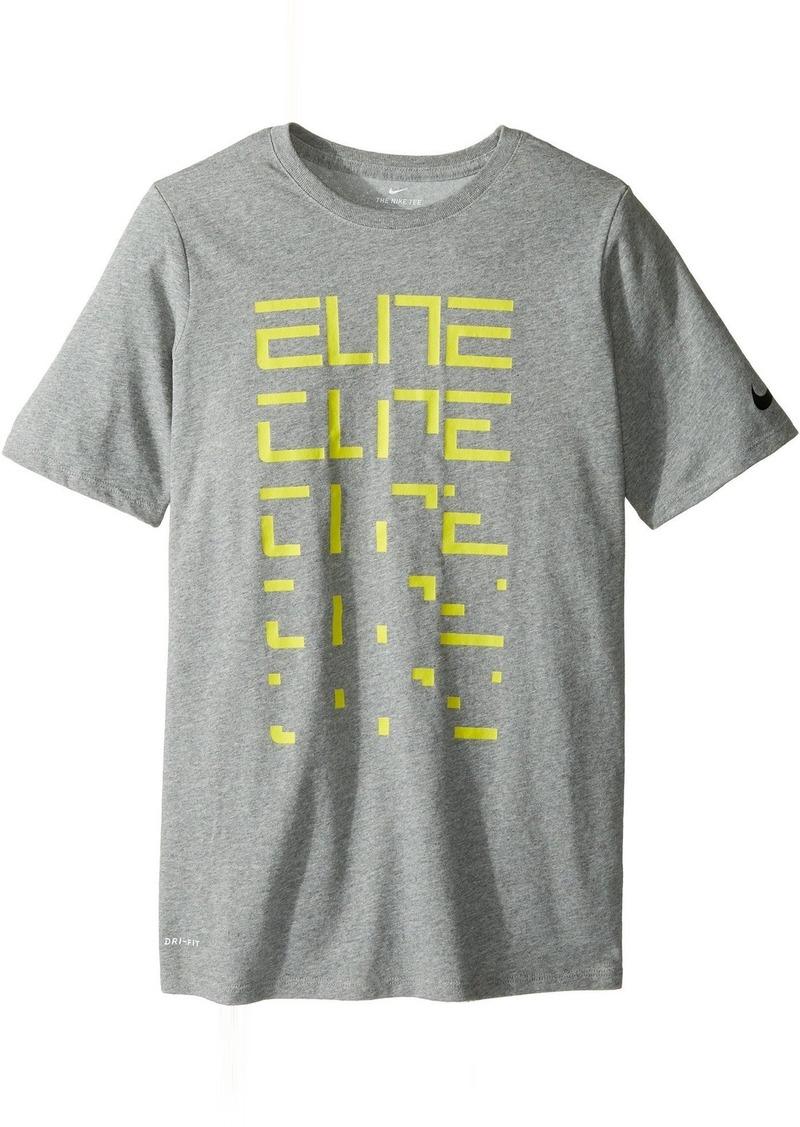 0213d911 Nike Nike Kids Dry Elite Basketball T-Shirt (Little Kids/Big Kids ...