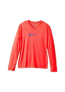 Nike Dry Legend Long Sleeve Training Top (Little Kids/Big Kids)