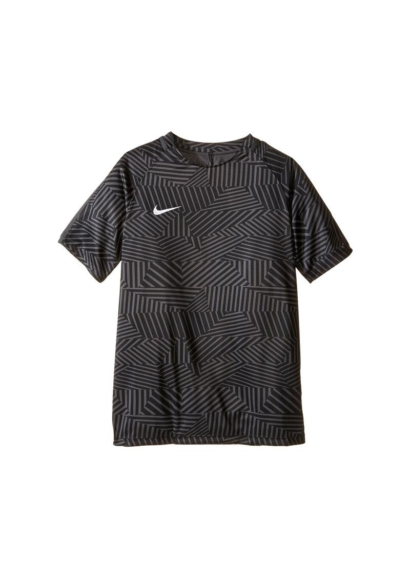 Nike nike kids dry squad short sleeve soccer shirt little for Nike short sleeve shirt