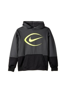 Nike KO Football Pullover Hoodie (Little Kids/Big Kids)