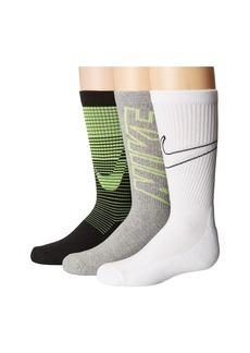 Nike Performance Cushion 3-Pair Socks (Little Kid/Big Kid)