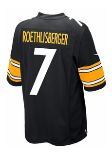 Nike Kids' Pittsburgh Steelers Ben Roethlisberger Jersey, Big Boys (8-20)