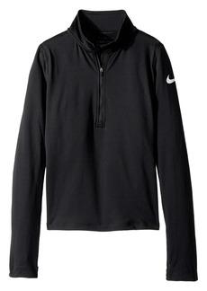 Nike Pro Warm 1/2 Zip Top (Little Kids/Big Kids)