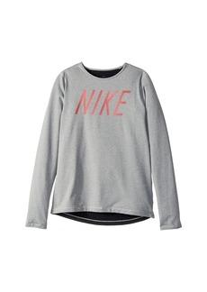 Nike Pro Warm Long Sleeve Top (Little Kids/Big Kids)