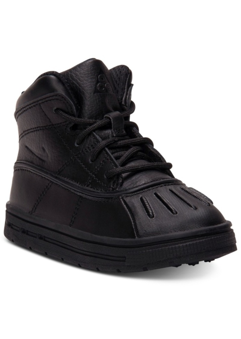 0669f4af06f3fa Nike Black Boot For Kids