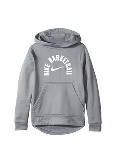 Nike Therma Basketball Pullover Hoodie (Little Kids/Big Kids)