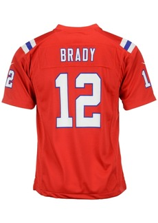 Nike Kids' Tom Brady New England Patriots Game Jersey, Big Boys (8-20)