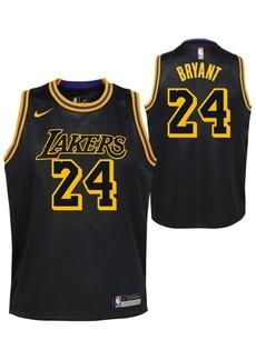Nike Kobe Bryant Los Angeles Lakers City Edition Swingman Jersey, Big Boys (8-20)