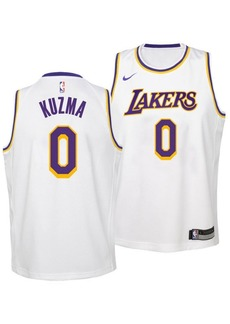 Nike Kyle Kuzma Los Angeles Lakers Association Swingman Jersey, Big Boys (8-20)