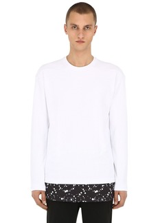 Nike Lab Long Sleeve Nylon Waffle Top
