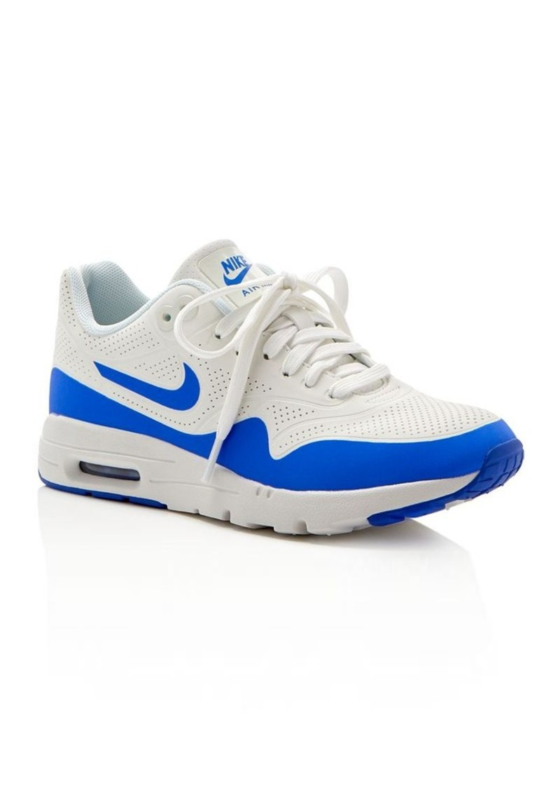 Nike Lace Up Sneakers - Women's Air Max 1 Ultra Moire